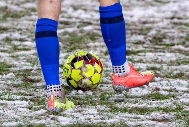 Racing Genk en KV Kortrijk leggen klacht neer na sneeuwmatch