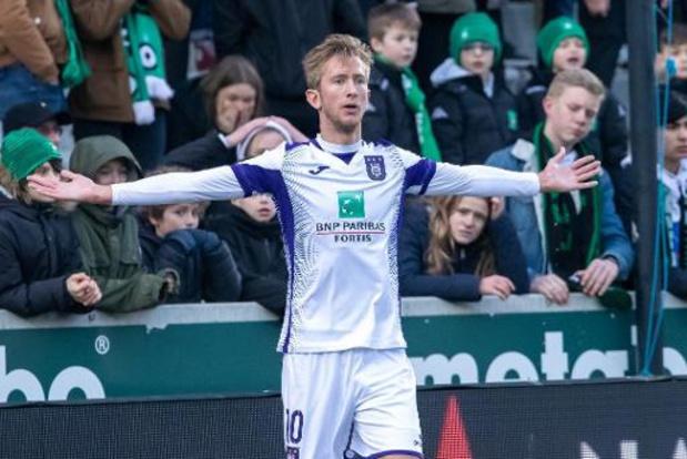 Anderlecht s'en sort de justesse 1-2 au Cercle Bruges