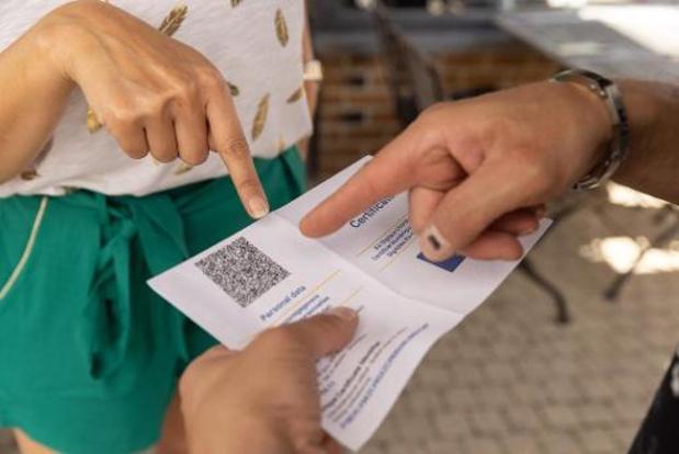 'Covid Safe Ticket mag niet  ontmoedigend werken  voor bezoek aan bewoners van onze woonzorgcentra'