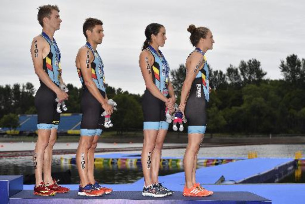 Euro de triathlon - La Belgique 8e du relais mixte remporté par la Grande-Bretagne