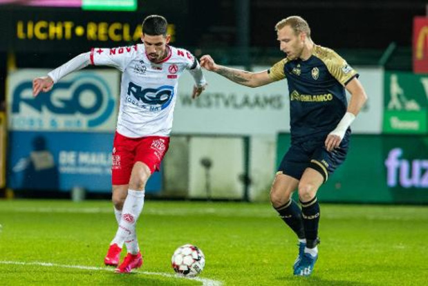 KV Kortrijk moet Stojanovic 4 tot 6 weken missen met hamstringblessure
