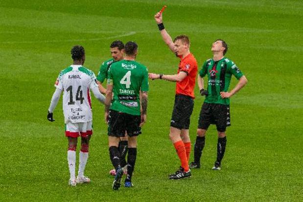 Kevin Hoggas (Cercle Bruges) risque trois matches de suspension