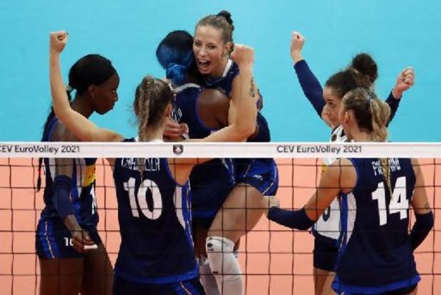 Championnat d'Europe de volley féminin - L'Italie championne d'Europe pour la 3e fois