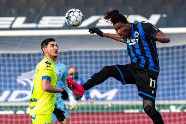 Club Brugge laat Simon Deli terugkeren naar Slavia Praag