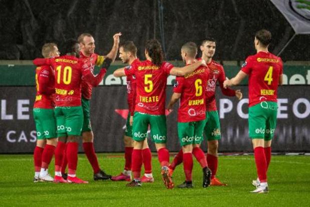 Jupiler Pro League - Treffer van Vandendriessche volstaat voor KVO op het veld van Cercle Brugge