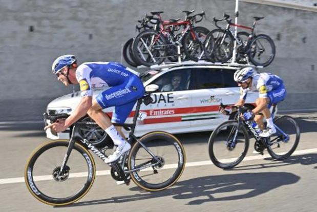 Critérium du Dauphiné: Declercq et Vansevenant dans une équipe Deceuninck-Quick Step emmenée par Alaphilippe