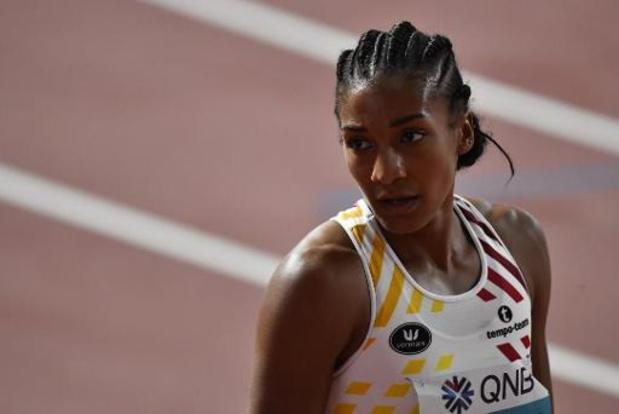 WK atletiek - Thiam sluit eerste dag na 200m af als tweede achter Johnson-Thompson