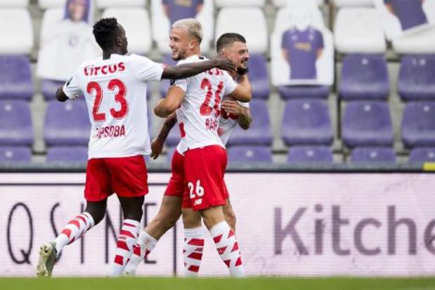 Jupiler Pro League - Standard dient Beerschot eerste nederlaag toe, Rouches komen voorlopig aan kop