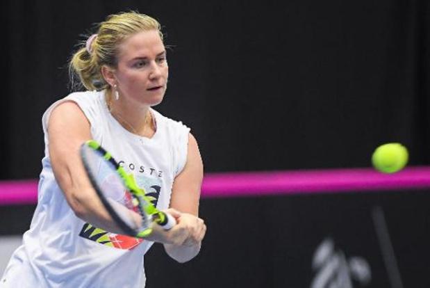 WTA Palermo - Ysaline Bonaventure in tweede kwalificatieronde uitgeschakeld