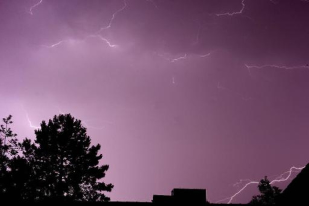 Orages et pluies torrentielles en Wallonie picarde