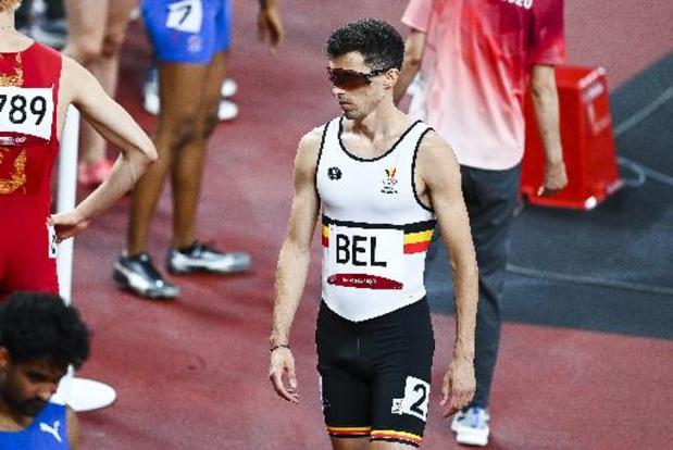 Belgische 4x400m gemengd plaatst zich met Belgisch record voor finale