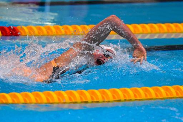 International Swimming League - Valentine Dumont bat son record de Belgique du 400 m libre en petit bassin