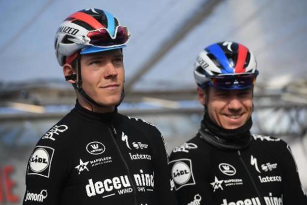 """Deceuninck-Quick Step part en stage: """"Premier point positif"""""""