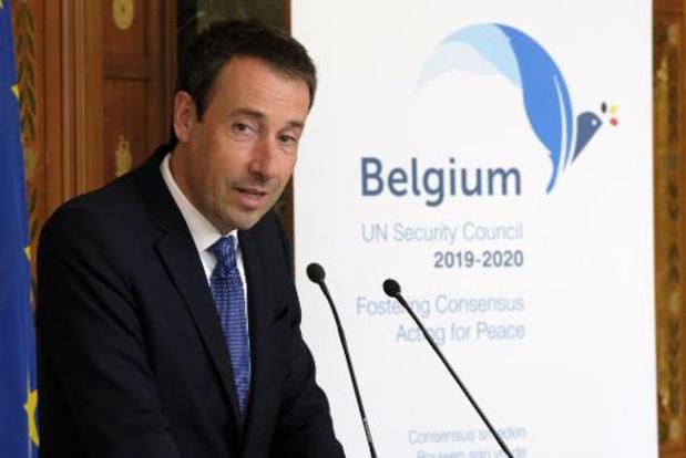 """Philippe Goffin défend la liberté de la presse, """"donnée fondamentale"""" de la démocratie"""