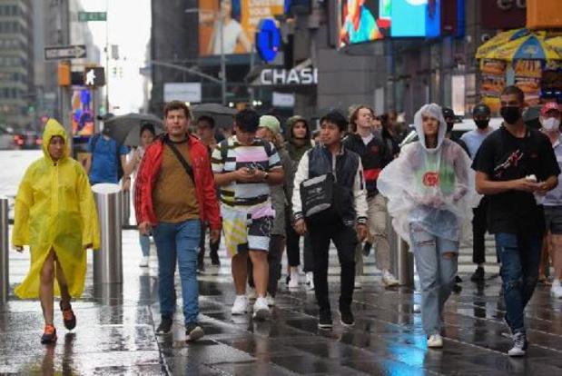 Tropische storm Henri bracht recordhoeveelheid regen naar New York