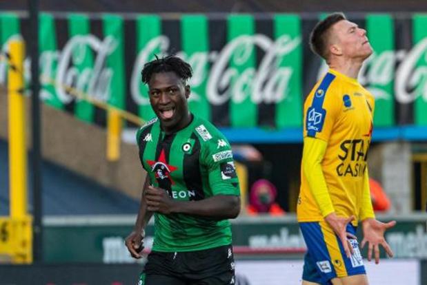 Jupiler Pro League - Le Cercle de Bruges remporte le choc du bas de classement face à Waasland-Beveren