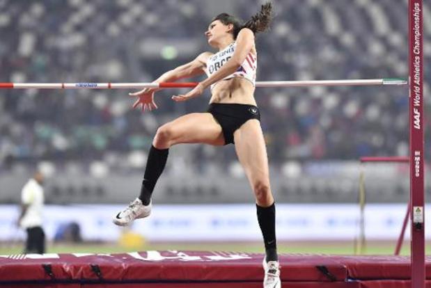 """Mondiaux d'athlétisme - Claire Orcel: """"J'ai adoré comme spectatrice et c'était très bien comme actrice"""""""