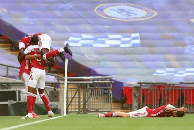 Couple d'Angleterre - Arsenal s'offre sa 14e FA Cup au détriment de Chelsea et décroche un ticket européen