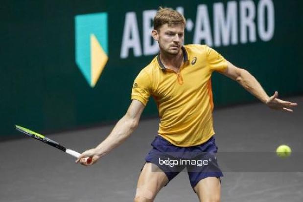 ATP Doha - Goffin s'impose avec autorité contre Krajinovic