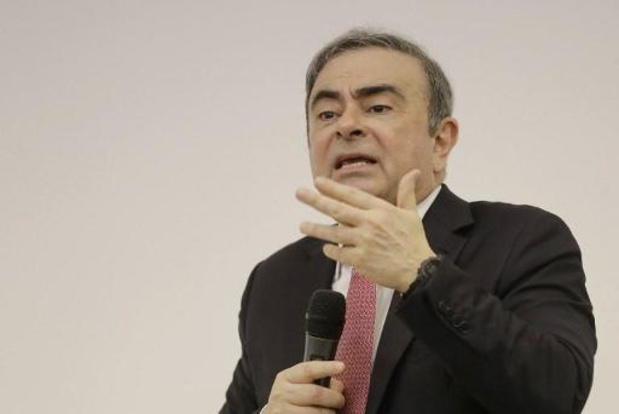 """Ghosn veut """"défendre"""" ses droits auprès de Renault et Nissan"""