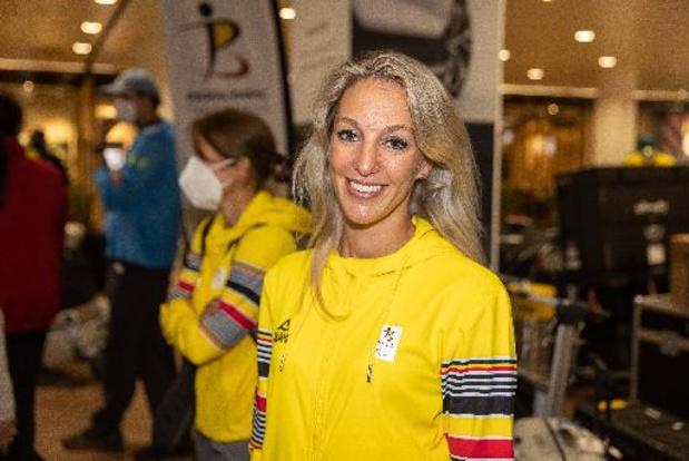 Manon Claeys médaillée de bronze dans l'épreuve individuelle test en dressage