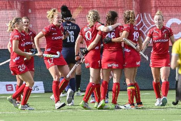 Hockey Pro League - Les Red Panthers s'imposent 3-0 face aux Etats-Unis dans leur 1er match officiel en 2021