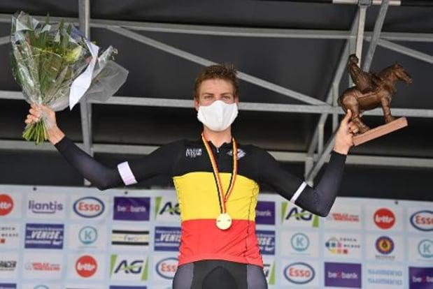 Rutger Wouters champion de Belgique des élites sans contrat