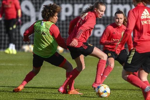 Red Flames: Oefenduel tegen Noorwegen wordt een nieuwe test
