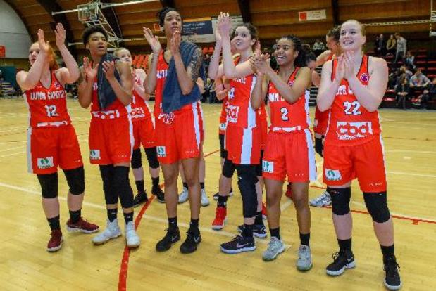Namur bat Wavre-Sainte-Catherine dans la 1re manche de la demi-finale de basket féminin