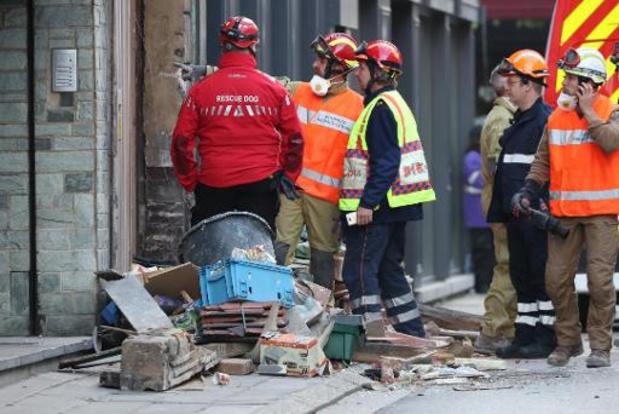 Le dossier de l'effondrement dans une maison mardi à Mons a été mis à l'instruction