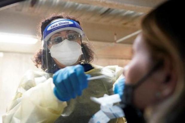 Recordaantal van 184.500 nieuwe dagelijkse besmettingen in VS
