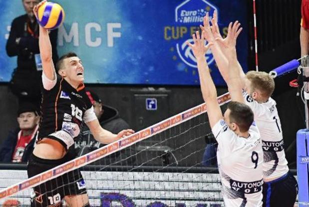 Coupe CEV (m) - Alost élimine Doetinchem et se hisse en huitièmes de finale