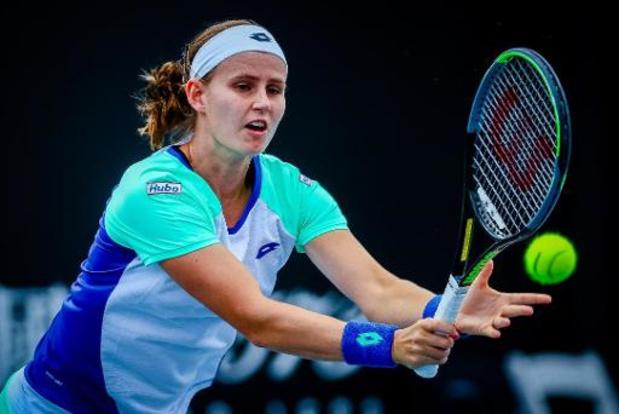 Greet Minnen fait trembler Caroline Garcia mais est éliminée au premier tour à Lyon