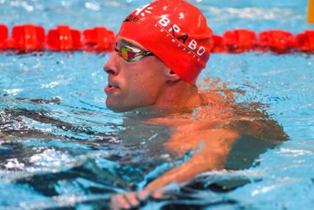 Pieter Timmers rukt met Belgisch record op naar EK-finale 50m vrij