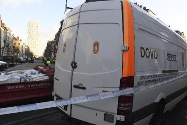 Zesendertig personen tijdelijk geëvacueerd omwille van obus in Etterbeek