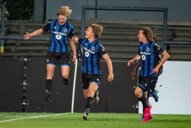 1B Pro League - Les espoirs de Bruges et Lommel se quittent sur un partage