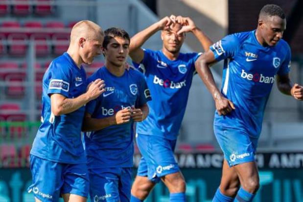 Jupiler Pro League - KRC Genk opent seizoen met winst bij Zulte Waregem
