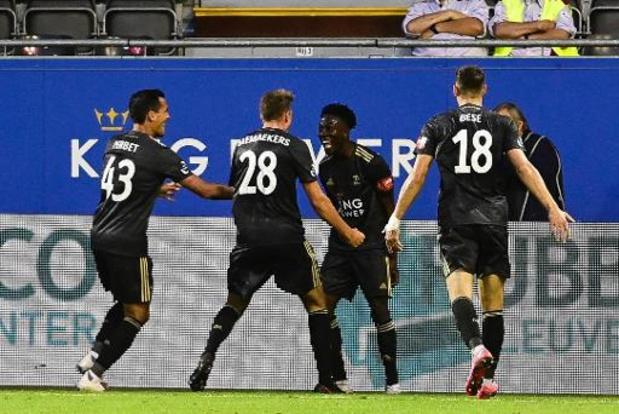 Jupiler Pro League - OH Leuven dient Standard eerste nederlaag van het seizoen toe