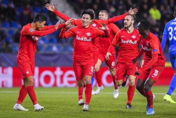 Champions League - Salzburg kegelt onmondig Genk uit Europa