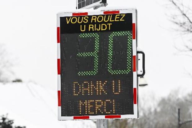 Le nombre d'accidentés graves et de morts en baisse de 25% à Bruxelles depuis la zone 30