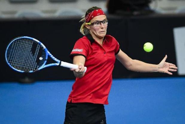 WTA Moscou: Kirsten Flipkens en quarts de finale