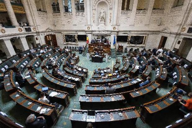 Chambre: l'indemnité parlementaire des députés à nouveau réduite l'an prochain de 5%
