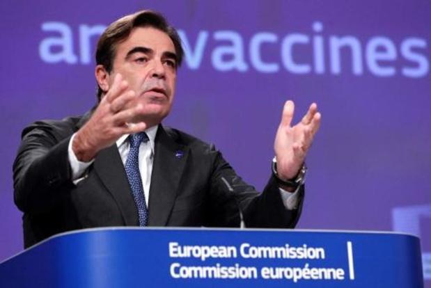 Vicevoorzitter Europese Commissie test positief