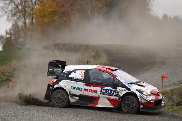 Elfyn Evans (Toyota Yaris) s'impose devant Ott Tänak au rallye de Finlande