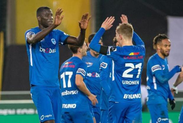 Jupiler Pro League - Racing Genk springt voorlopig naar koppositie na 1-5 zege tegen Cercle Brugge