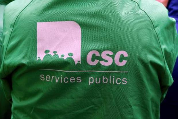 Après douze heures de négociations durant la nuit, c'est l'échec, regrette la CSC