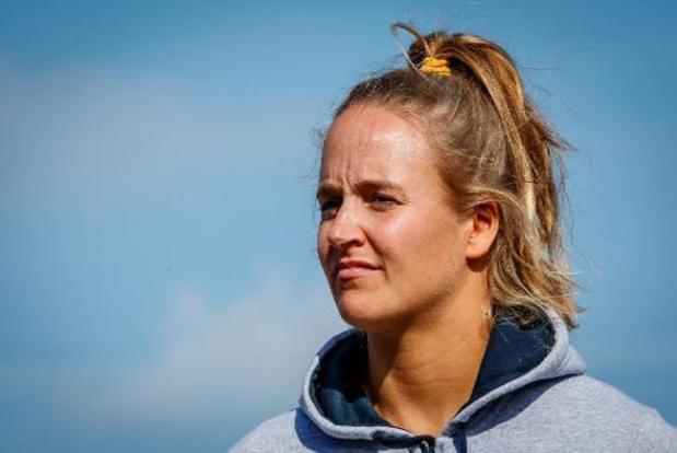 Championnats du monde de Laser Radial: Emma Plasschaert recule de la deuxième à la cinquième place