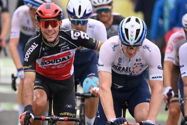 """La dernière de Philippe Gilbert: """"à tout âge, finir le Tour, c'est quelque chose"""""""