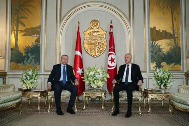 Erdogan en visite surprise en Tunisie