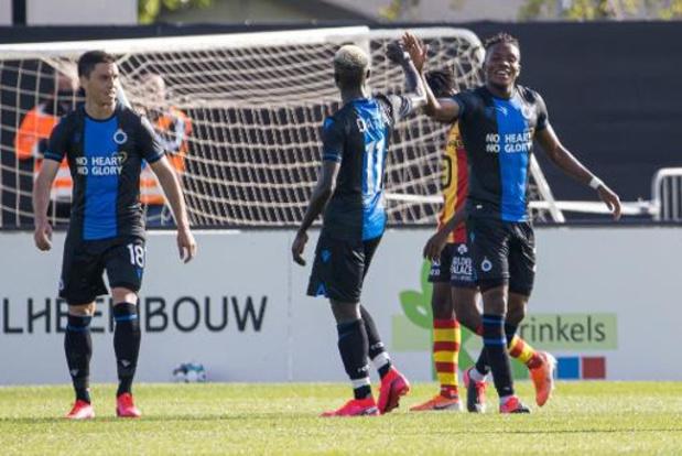Le Club de Bruges favori à sa propre succession mais la concurrence sera rude